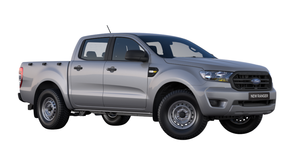 Mea South Africa RHD Black Plate Ford Ranger XL Double Cab 2.2 4×2 Moondust Silver